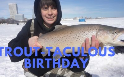 Birthday Fishing for MONSTER Trout
