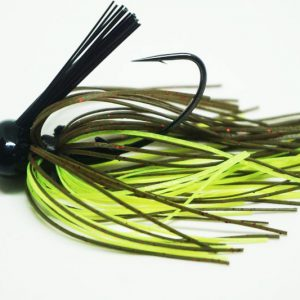 Green Pumpkin Chart Football Jig