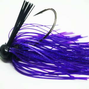 Purple Football Jig